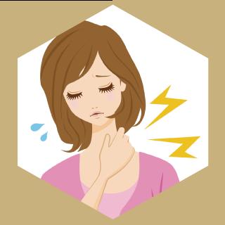 肩・首筋のこりがひどい人はカイロプラクティックで症状緩和が期待できます。