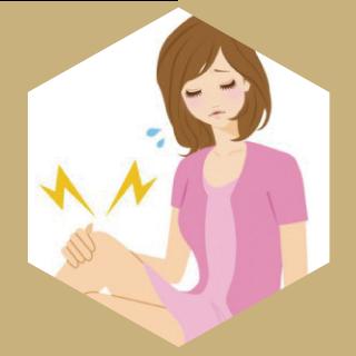 膝の痛みや関節の違和感も骨格の歪みが原因です。カイロプラクティックで症状緩和が期待できます。